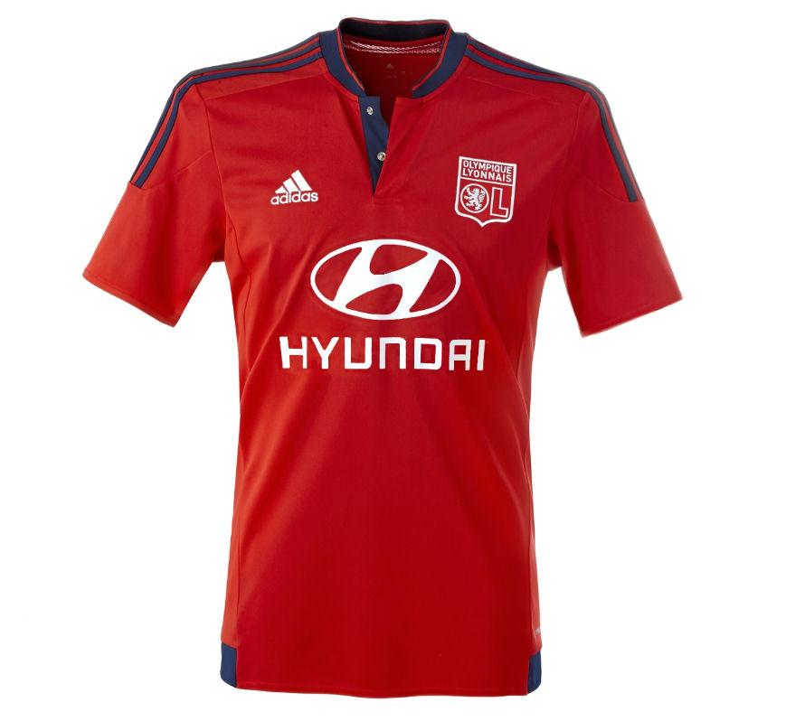 8fd0f2d36 Olympique Lyon 15-16 Away Shirt  S11912  -  33.04 Teamzo.com