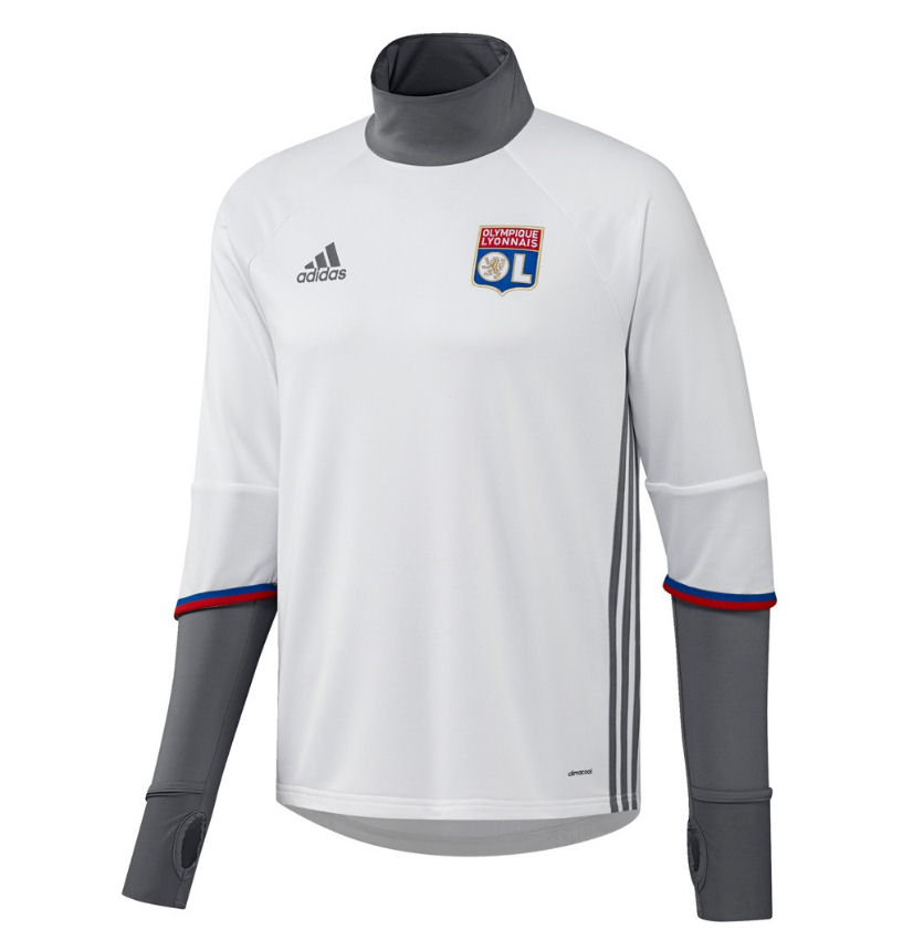 Olympique Lyon 2016-2017 Training Top (White) [AP1418 ...