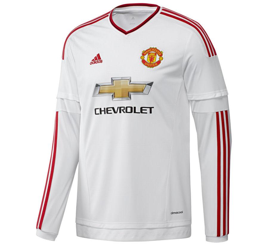 9b6504f8d96 Man Utd 2015-2016 Away Long Sleeve Shirt  AI6362  -  32.74 Teamzo.com