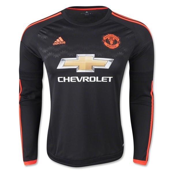 2dbba29ce38 Man Utd 2015-2016 Third Long Sleeve Shirt (Kids)  AC1449  -  39.17 ...
