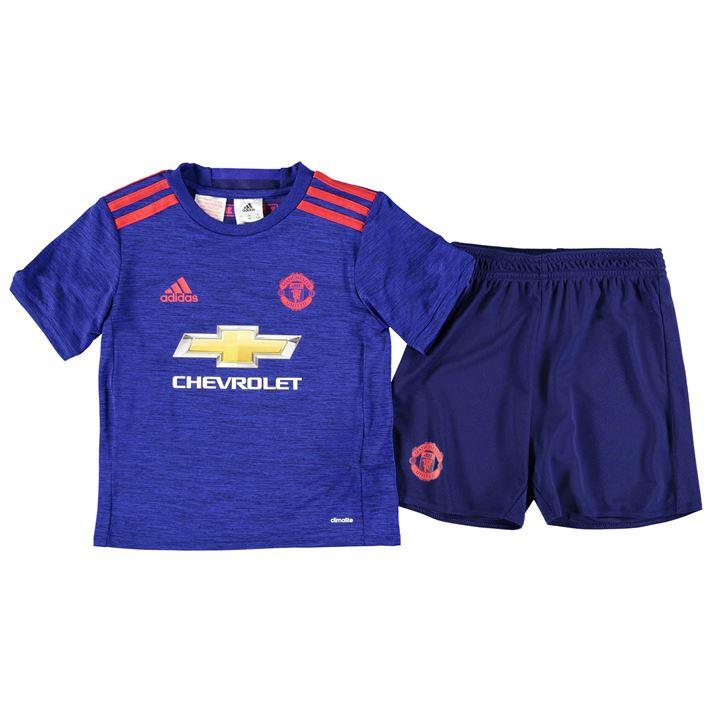 new product bdf01 3ef61 Man Utd 2016-2017 Away Baby Kit