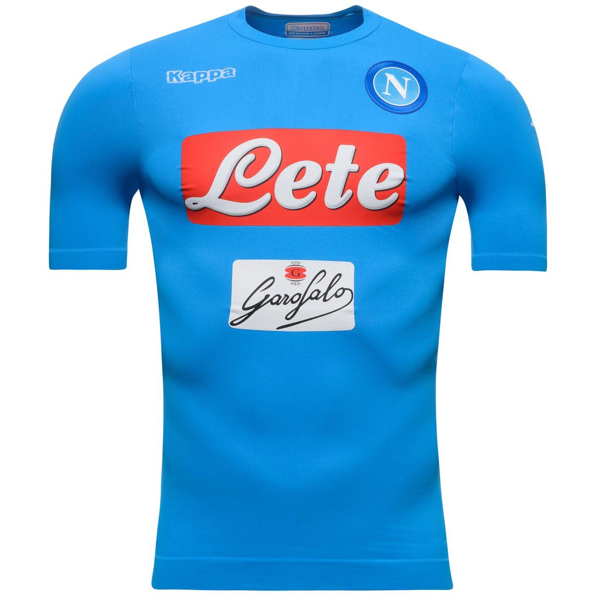 Napoli 2016-2017 Authentic Home Shirt  302HBB0  -  53.10 Teamzo.com 12173cf476a2b