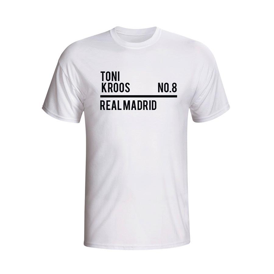 finest selection 00bb8 5eabb Toni Kroos Real Madrid Squad T-shirt (white) - Kids