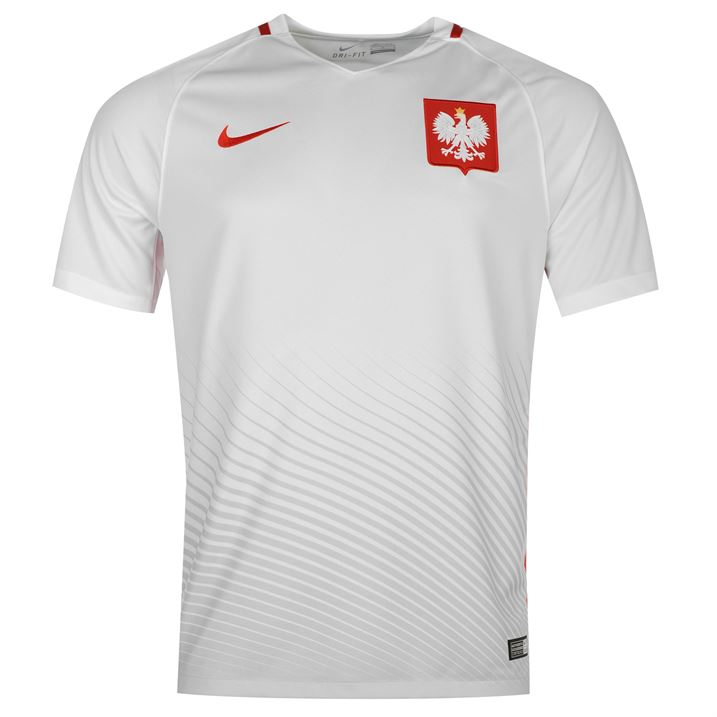 52e467a29a2 Poland 2016-2017 Home Shirt  724633-100  -  93.67 Teamzo.com