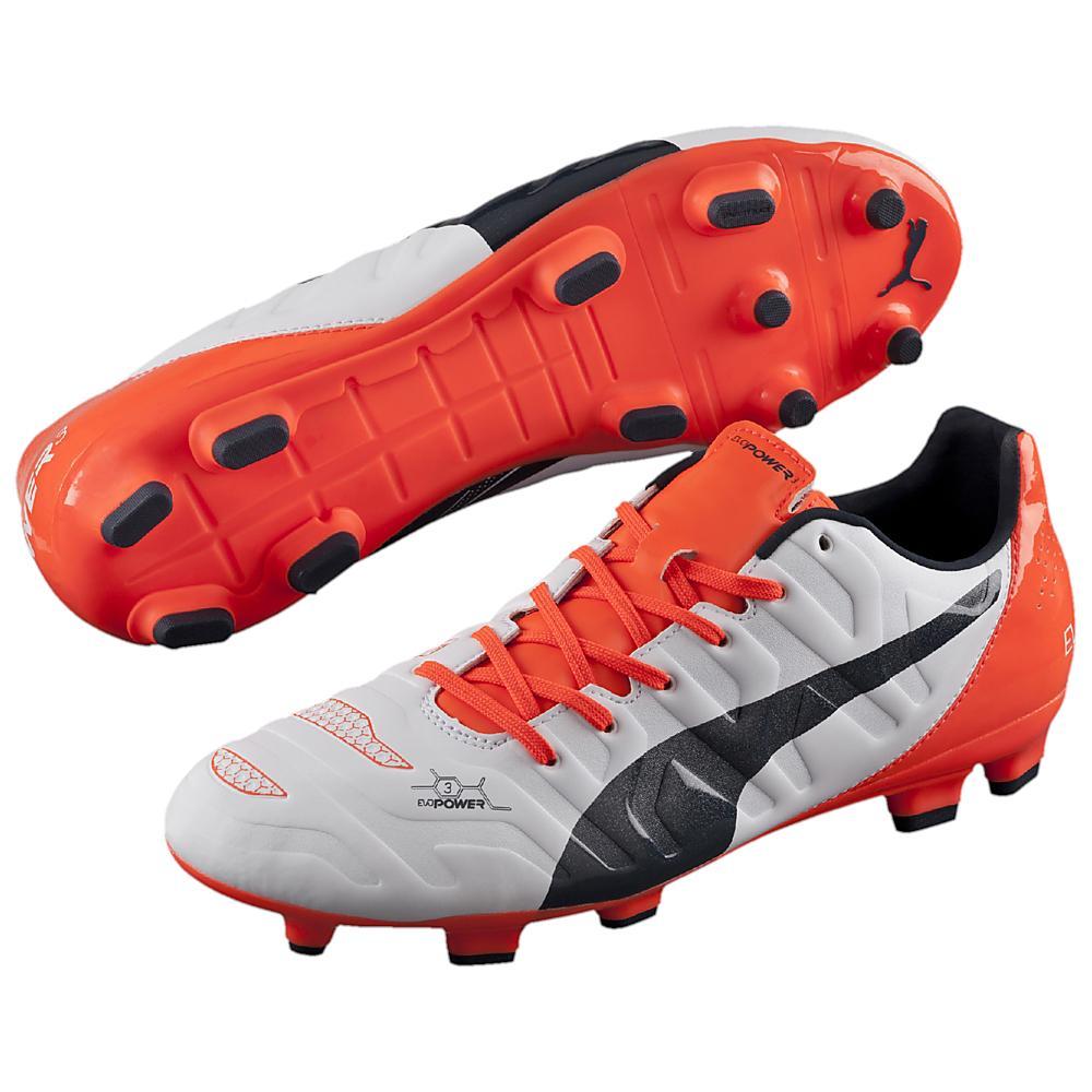puma orange boots