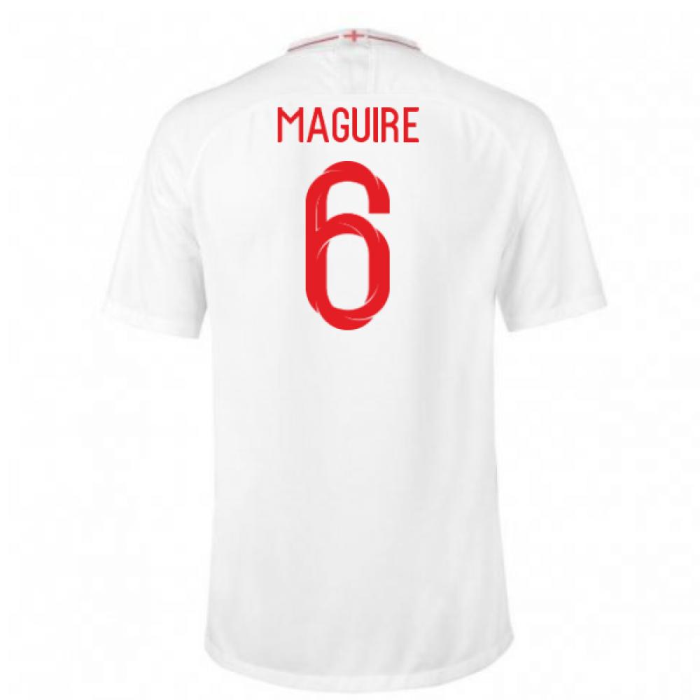 2018-2019 England Home Nike Football Shirt (Maguire 6) - Kids ... 7a2dcc4b2