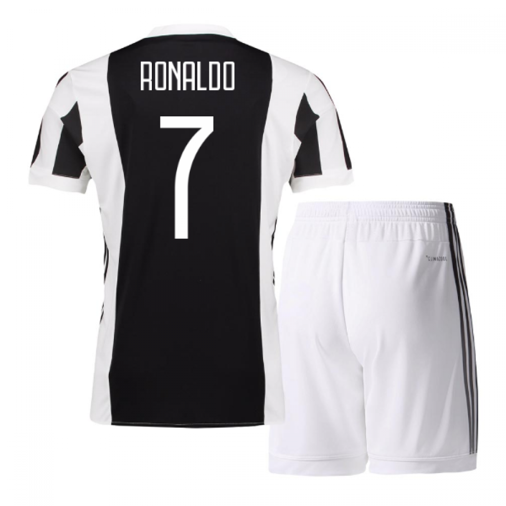 56e21a57f 2017-18 Juventus Home Mini Kit (Ronaldo 7)  AZ8702-111958  -  76.08 ...