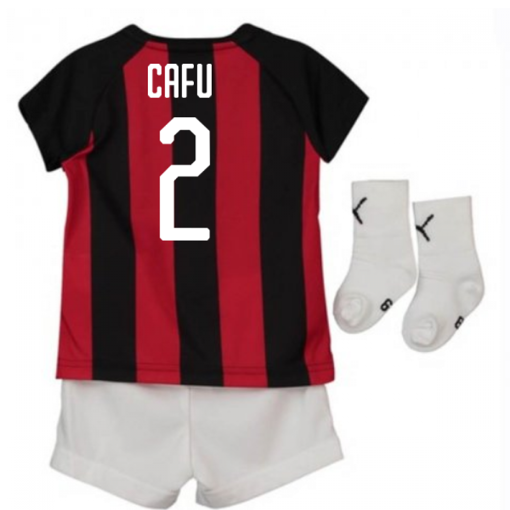f1f11e16cd62 2018-2019 AC Milan Puma Home Baby Kit (Cafu 2)