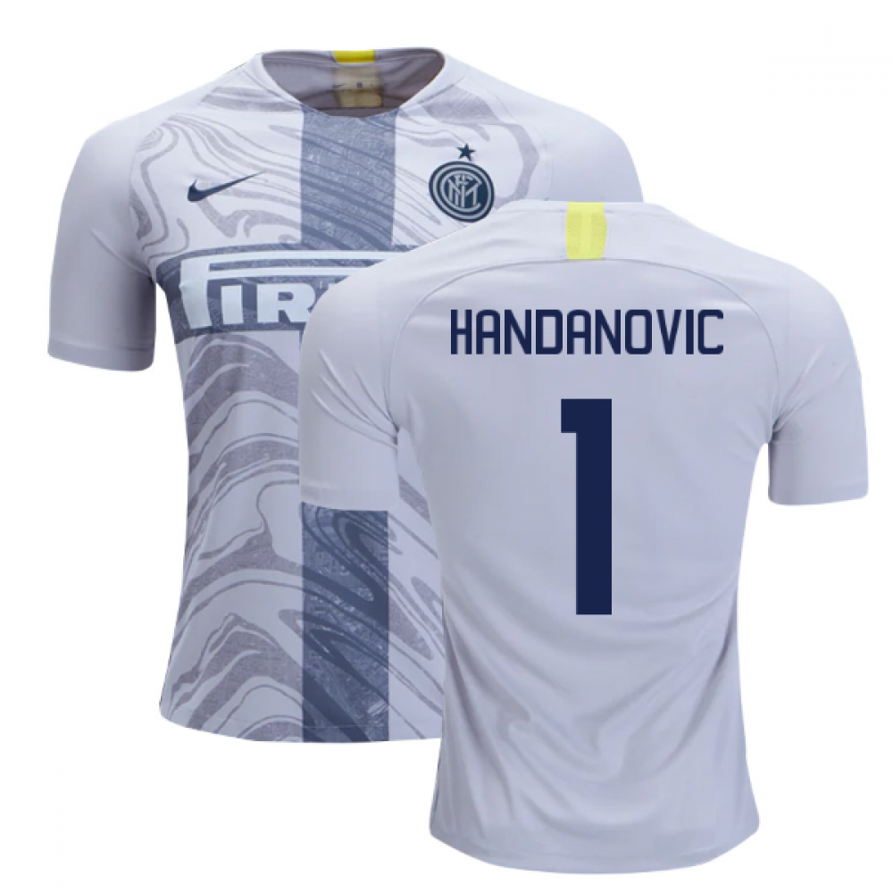premium selection 87448 2f560 2018-2019 Inter Milan Third Nike Football Shirt (Handanovic 1)