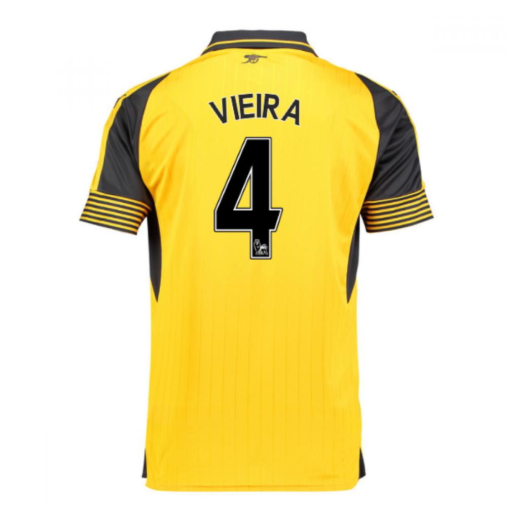 1e1a8c006 2016-17 Arsenal Away Shirt (Vieira 4)  74971403-129772  -  78.36 ...