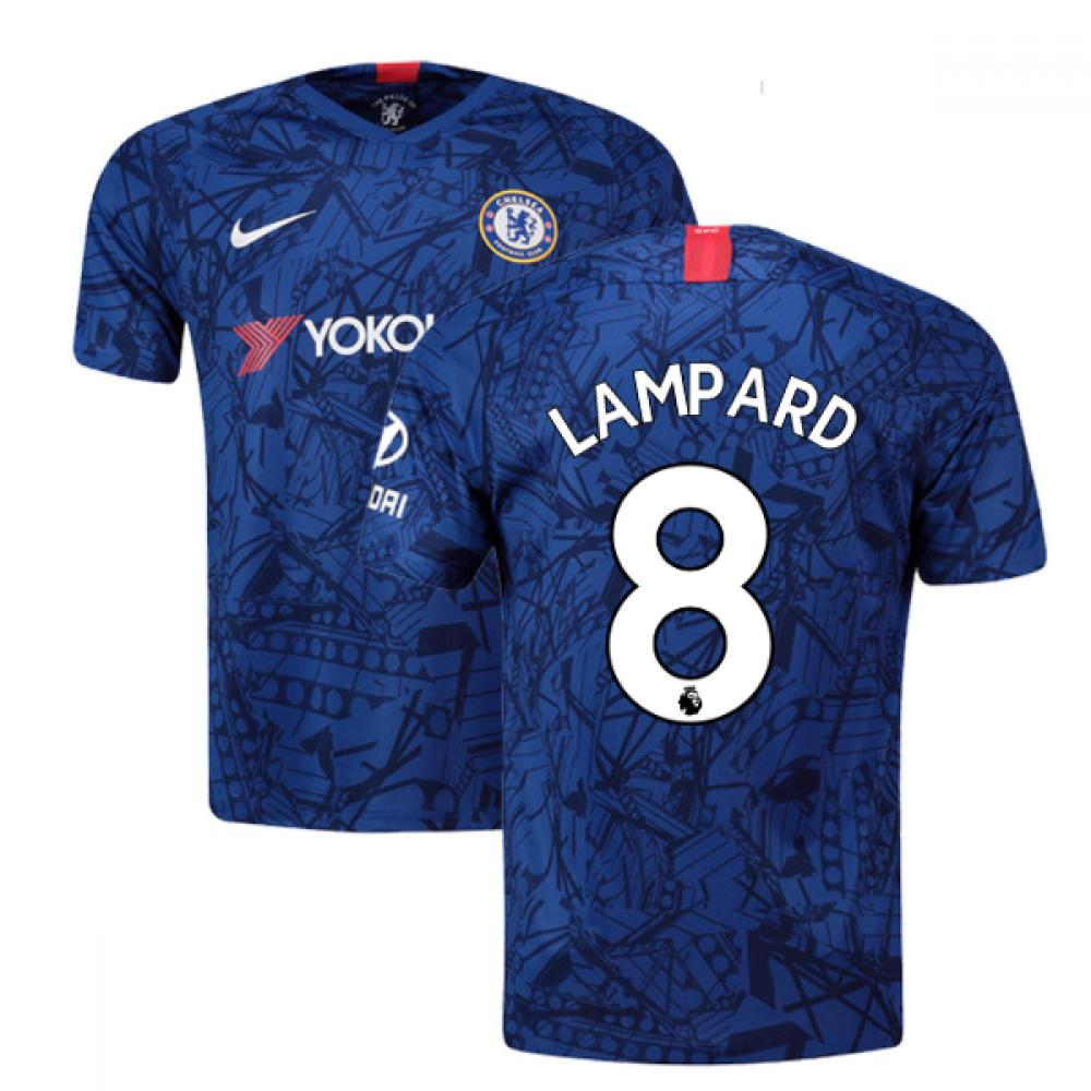 on sale 779b5 3b827 2019-20 Chelsea Home Shirt (Lampard 8) - Kids