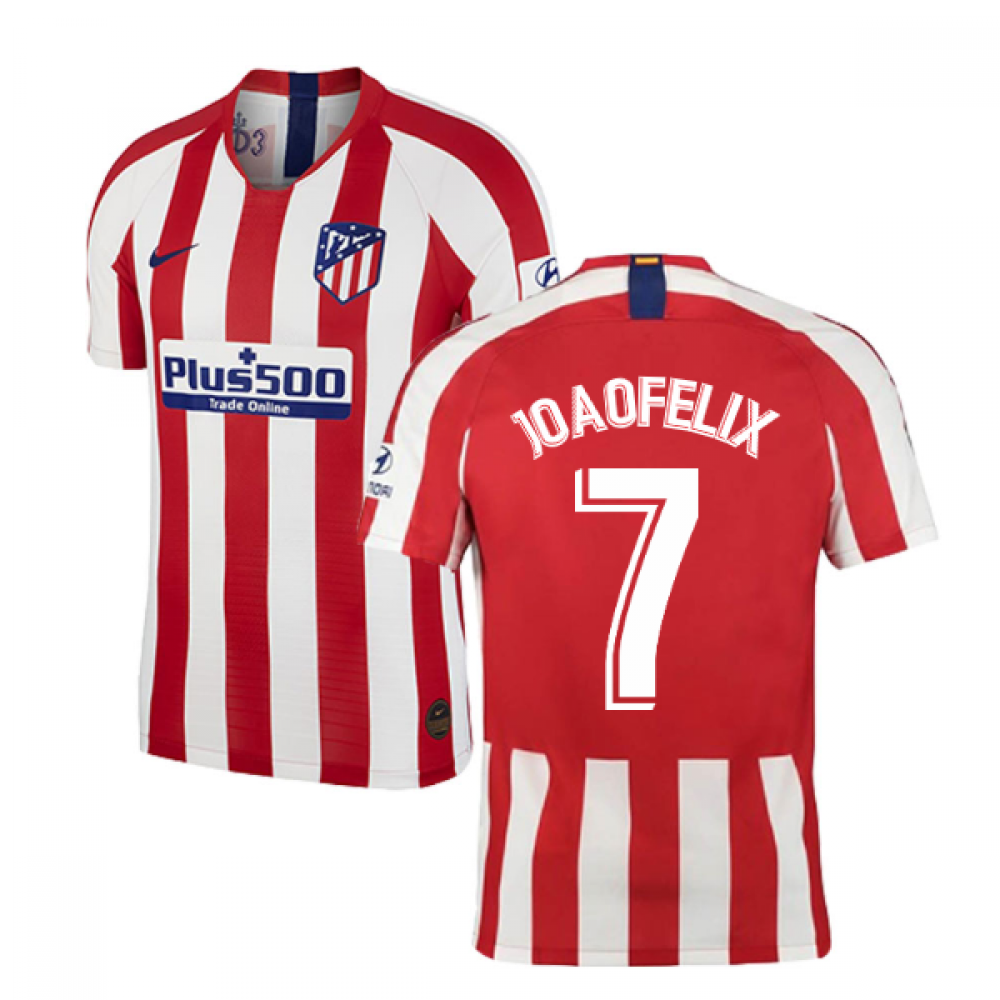 2019 2020 Atletico Madrid Vapor Match Home Shirt Joao Felix 7 Aj5253 612 152102 142 88 Teamzo Com