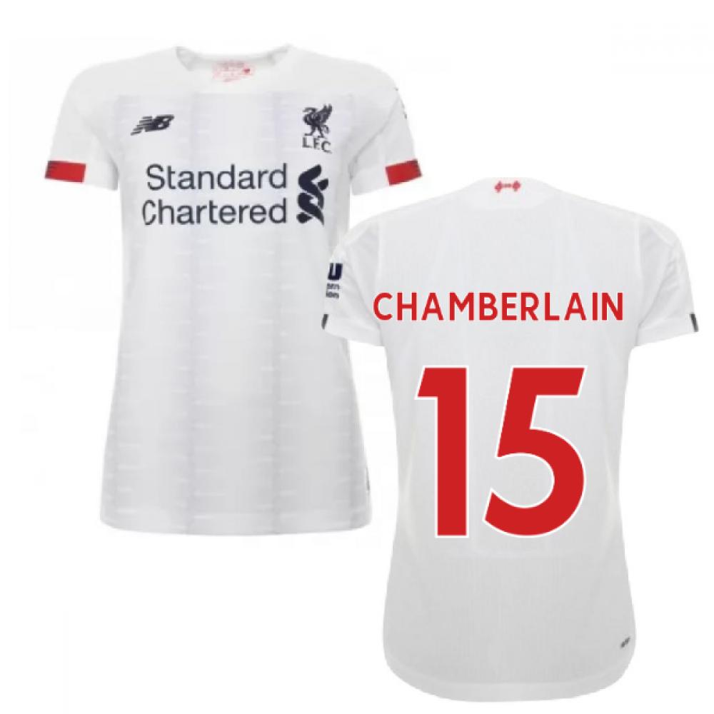 2019-2020 Liverpool Away Ladies Football Shirt (Chamberlain 15)