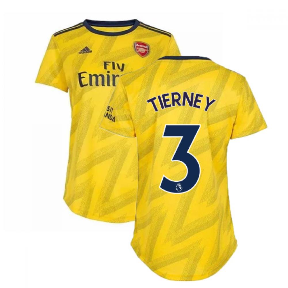 2019 2020 Arsenal Adidas Womens Away Shirt Tierney 3 Eh5678 158344 96 30 Teamzo Com
