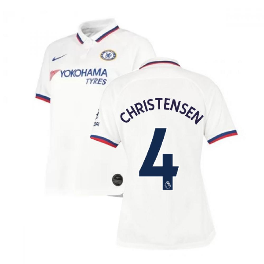 2019-2020 Chelsea Away Nike Ladies Shirt (Christensen 4)