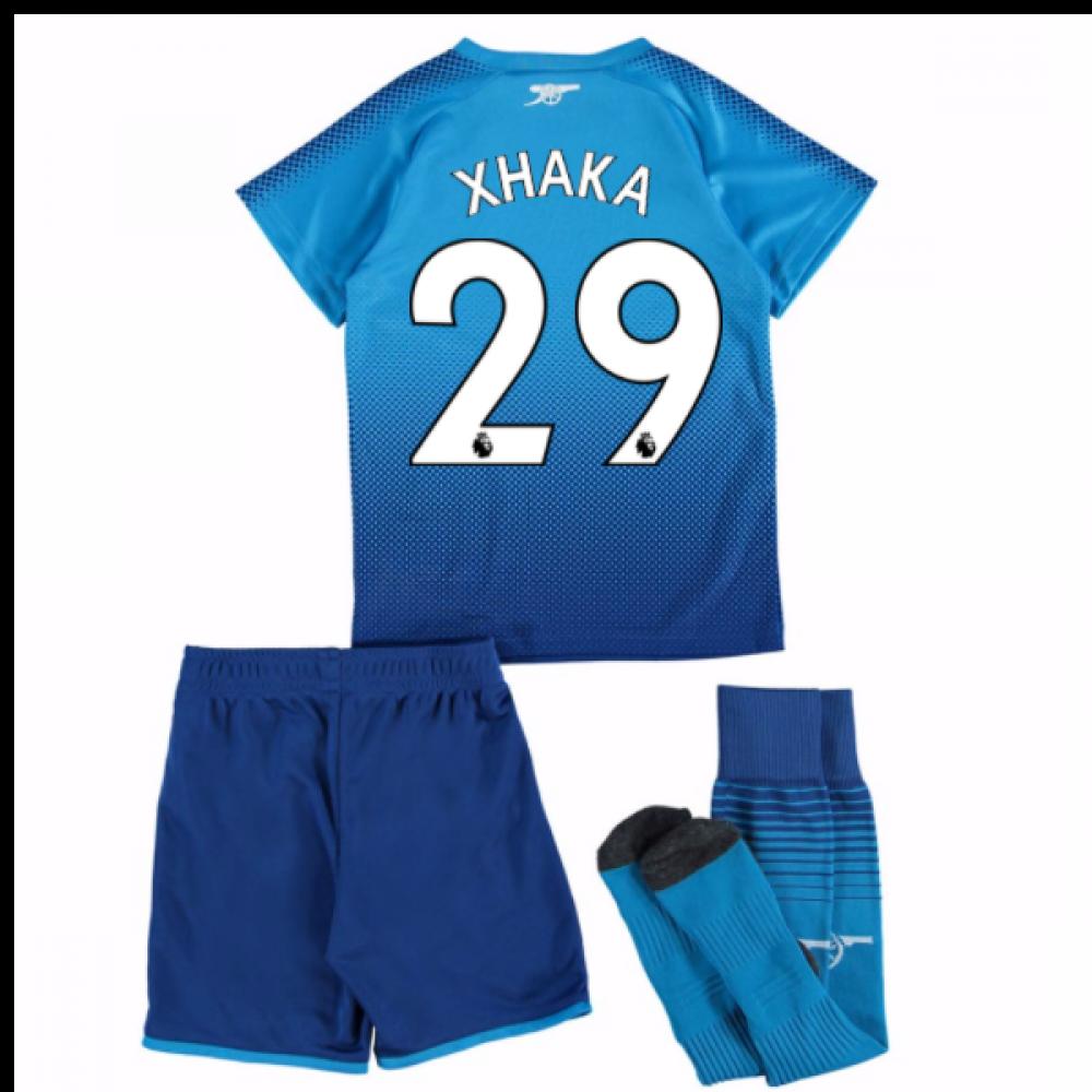 5124fbd48 2017-18 Arsenal Away Mini Kit (Xhaka 29)  75153403-100127  -  72.08 ...