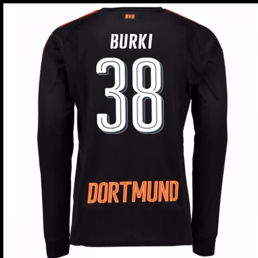 huge selection of 8ea42 21145 2017-18 Borussia Dortmund Home Goalkeeper Shirt - Kids (Burki 38)