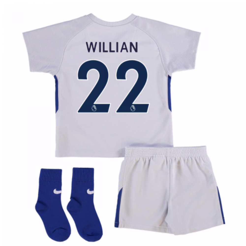 best sneakers cd3d7 f799b 2017-18 Chelsea Away Baby Kit (Willian 22)