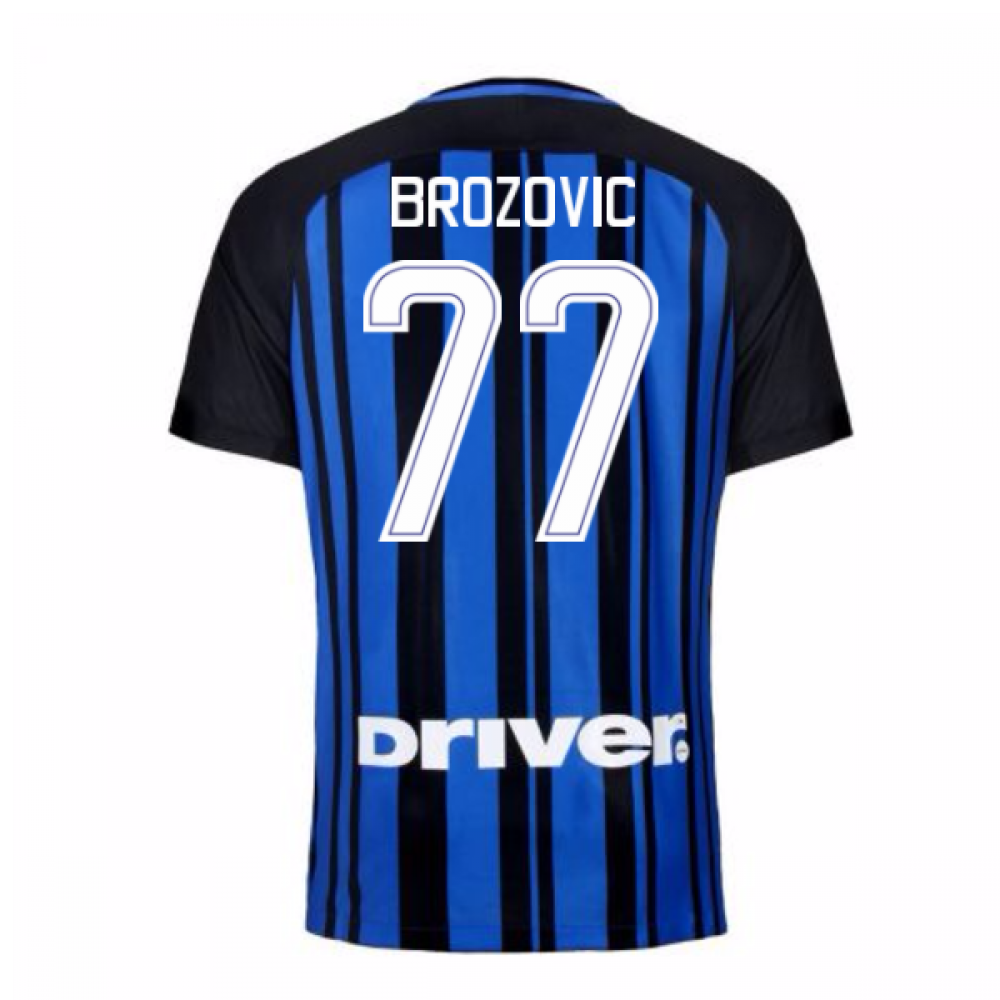4e9f9ea5766 official store inter milan 77 brozovic home long sleeves soccer club ...