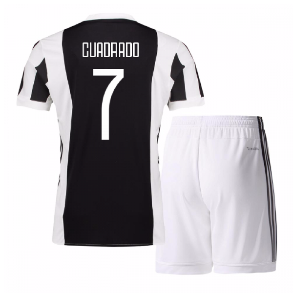 hot sale online 30098 e76f9 2017-18 Juventus Home Mini Kit (Cuadrado 7)