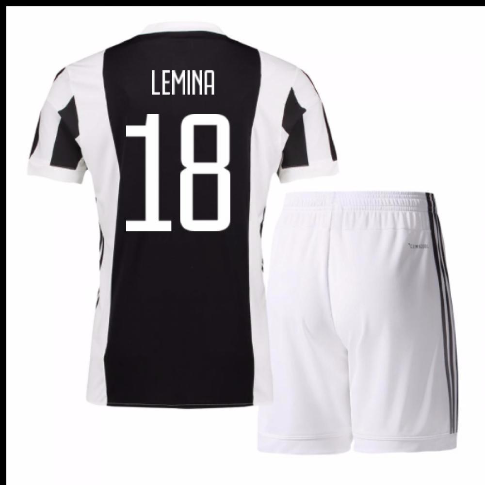 ab236422a91 2017-18 Juventus Home Mini Kit (Lemina 18)  AZ8702-101880  -  78.36 ...