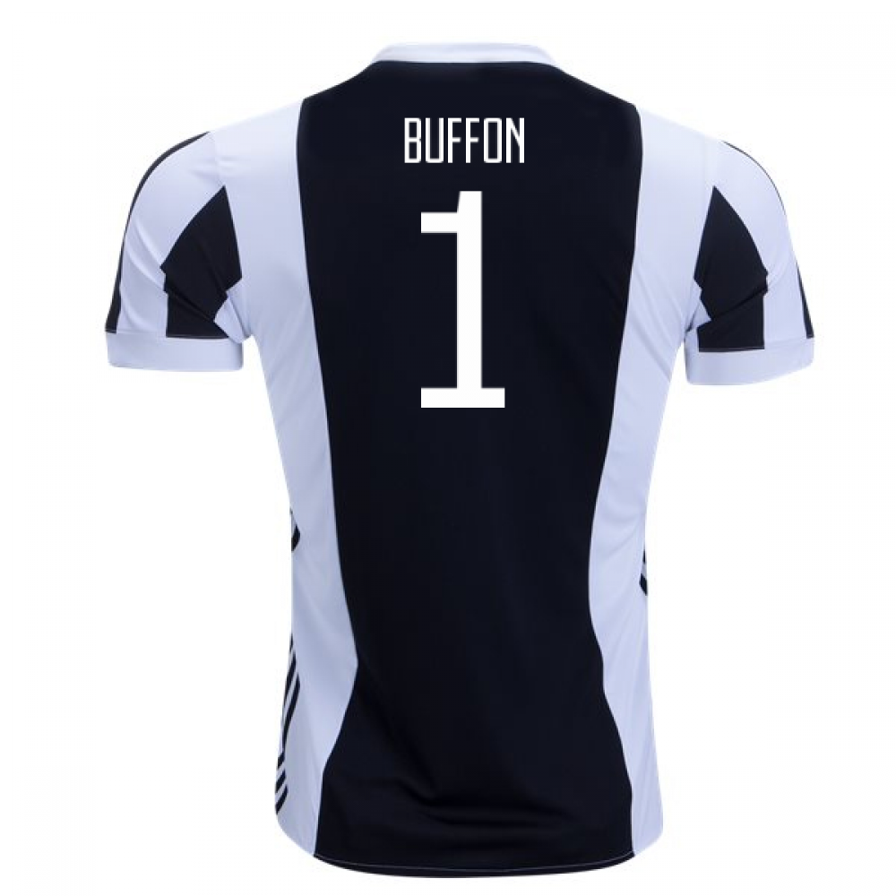dbdb11780a2 2017-18 Juventus Home Shirt (Buffon 1) - Kids  AZ8703-94526 ...