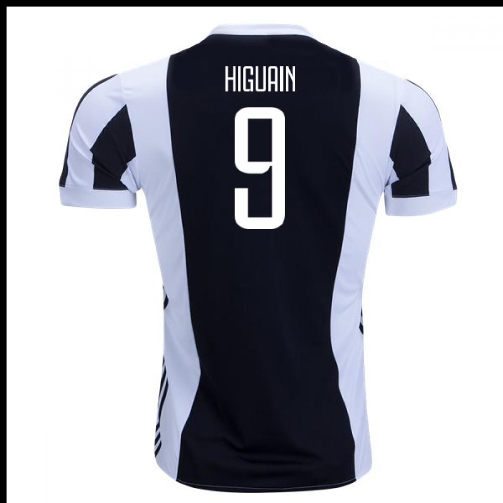 2017-18 Juventus Home Shirt (Higuain 9) - Kids  AZ8703-94538 ... eb866fdc0