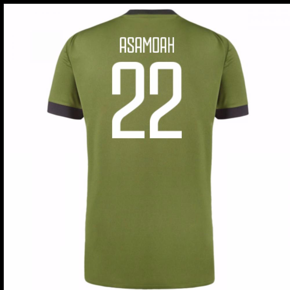 899ed82bd 2017-18 Juventus Third Shirt (Asamoah 22) - Kids  AZ8684-101919 ...