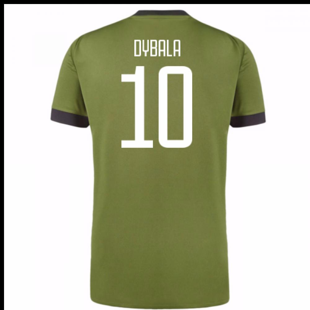 sale retailer 7c6ee 50dee 2017-18 Juventus Third Shirt (Dybala 10) - Kids