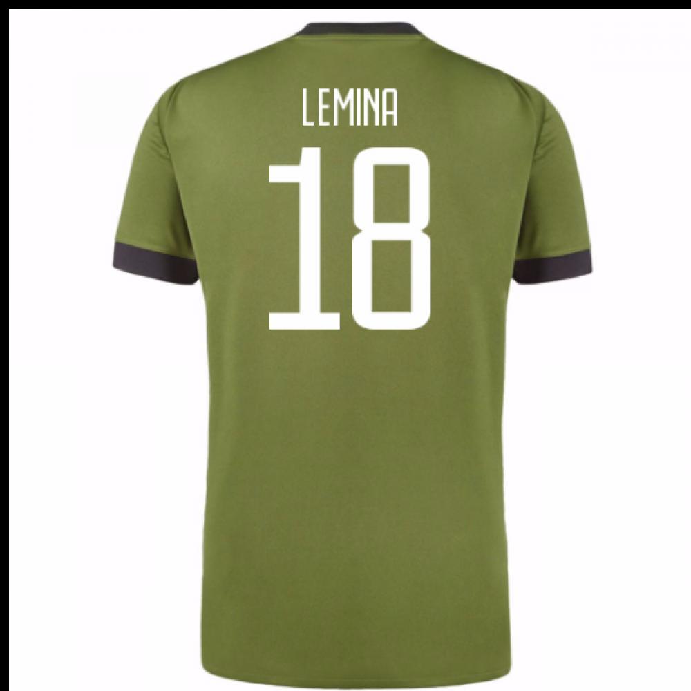 c8f8dcb8b08 2017-18 Juventus Third Shirt (Lemina 18) - Kids  AZ8684-101941 ...