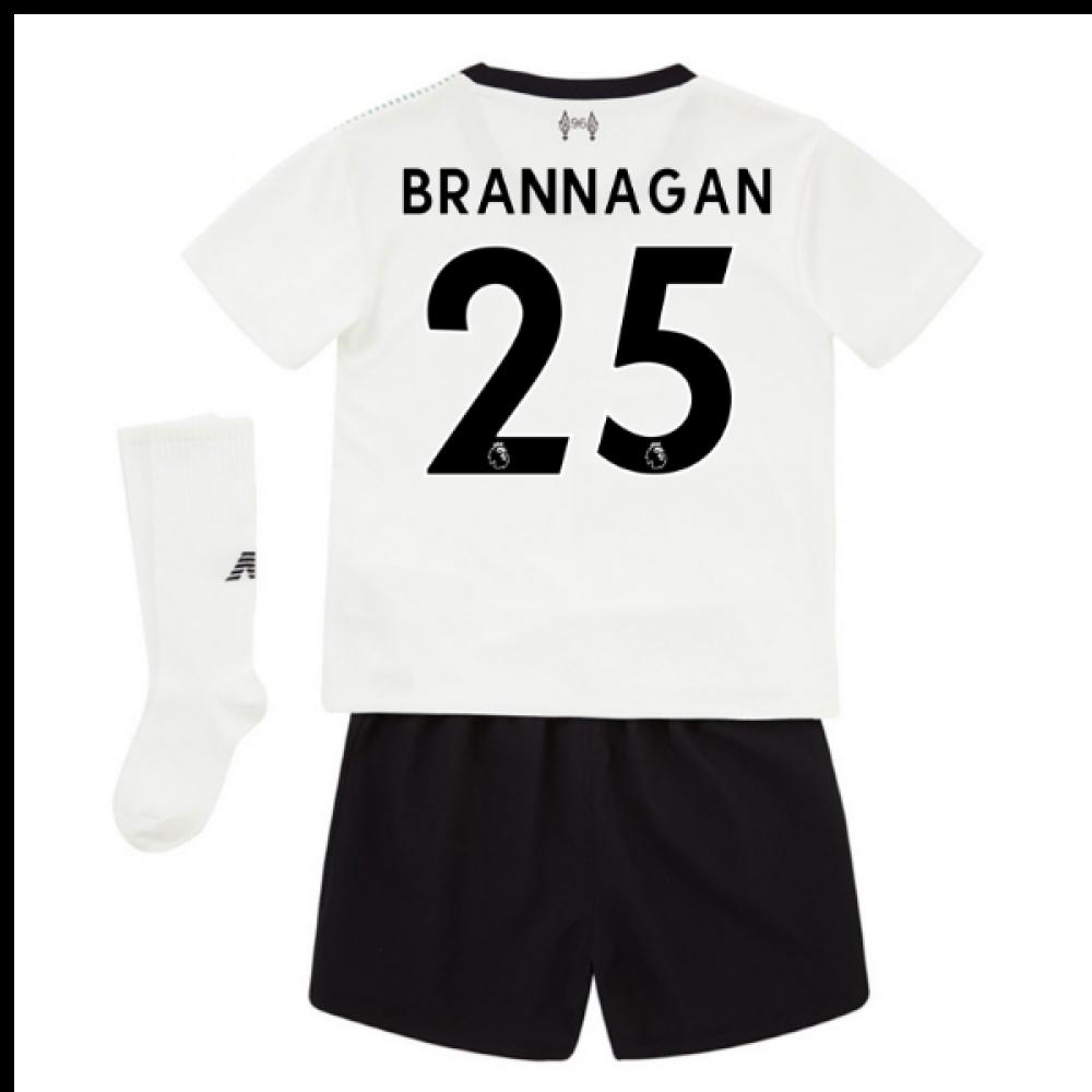 b6e1597d3 2017-18 Liverpool Away Mini Kit (Brannagan 25)  IY730129-94368 ...