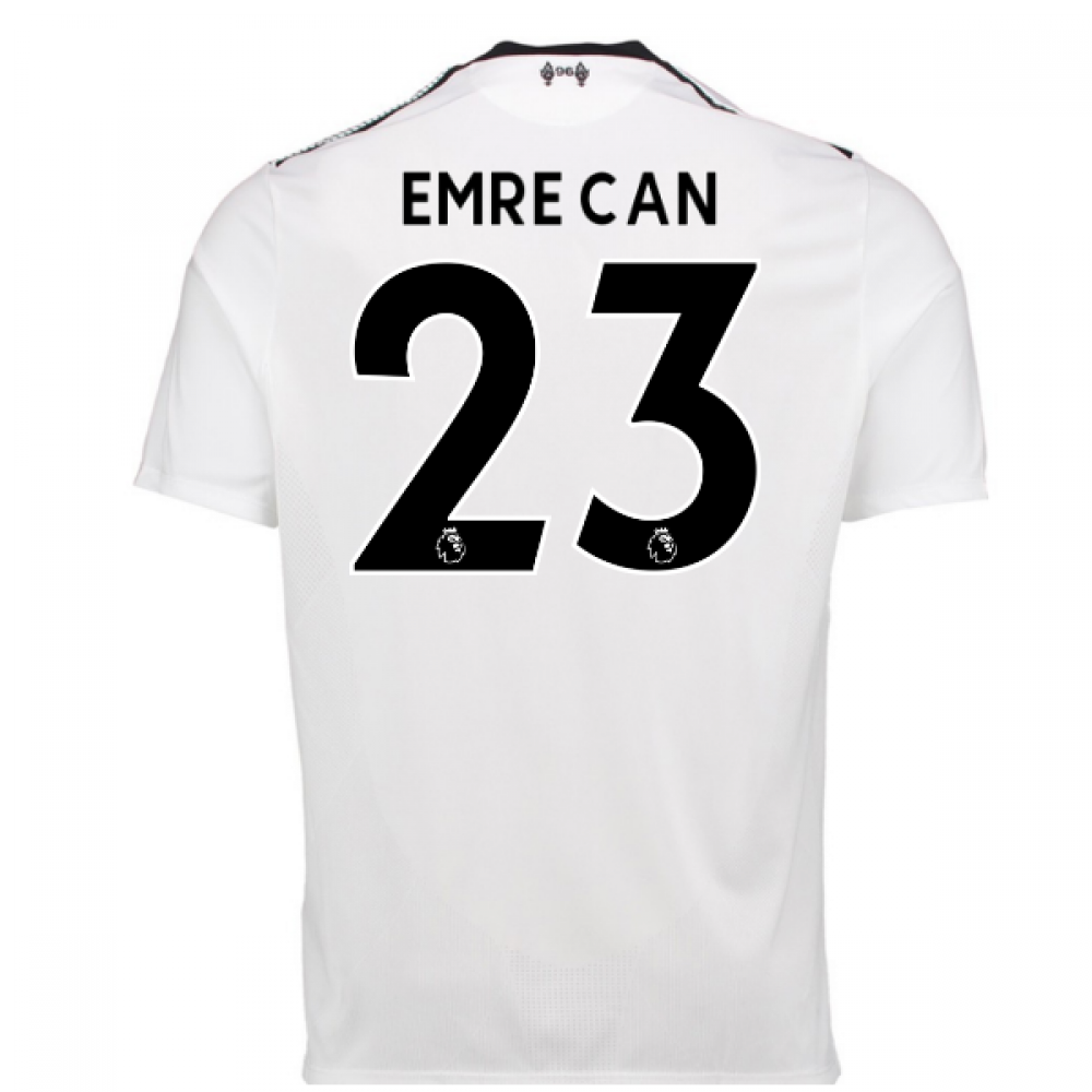 finest selection c8d06 02665 2017-18 Liverpool Away Shirt (Emre Can 23)