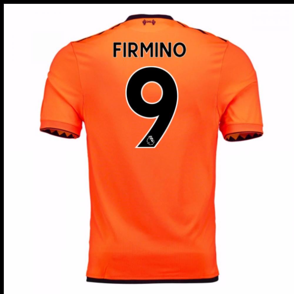 huge discount 797eb 0d941 2017-18 Liverpool Third Shirt (Firmino 9) - Kids