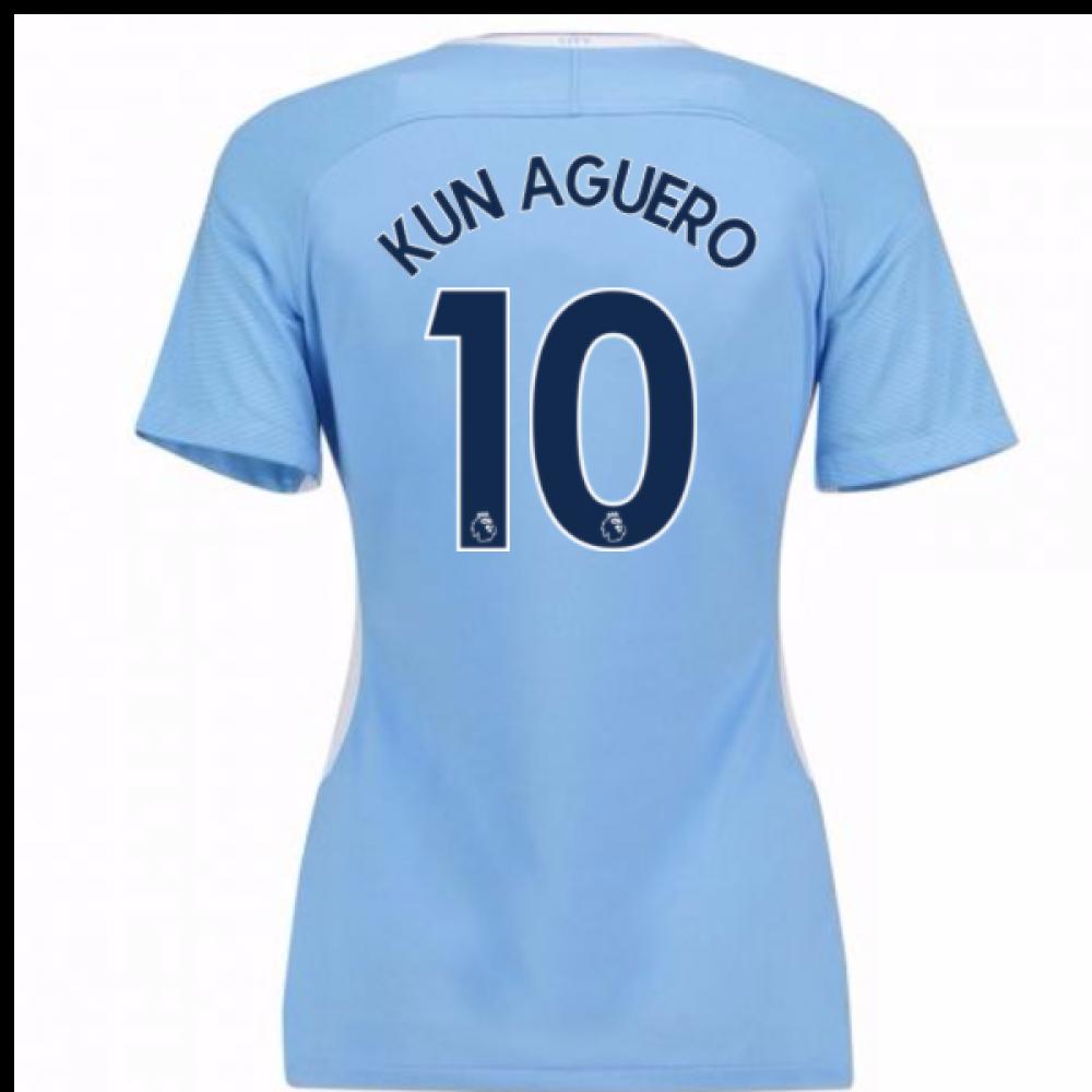 201718 man city womens home shirt kun aguero 10 847232
