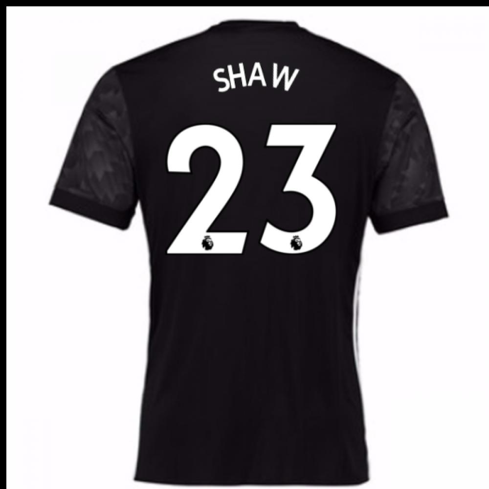 2017-18 Man Utd Away Adidas Shirt (Shaw 23)  BS1217-92410  -  91.35 ... 37015ea04