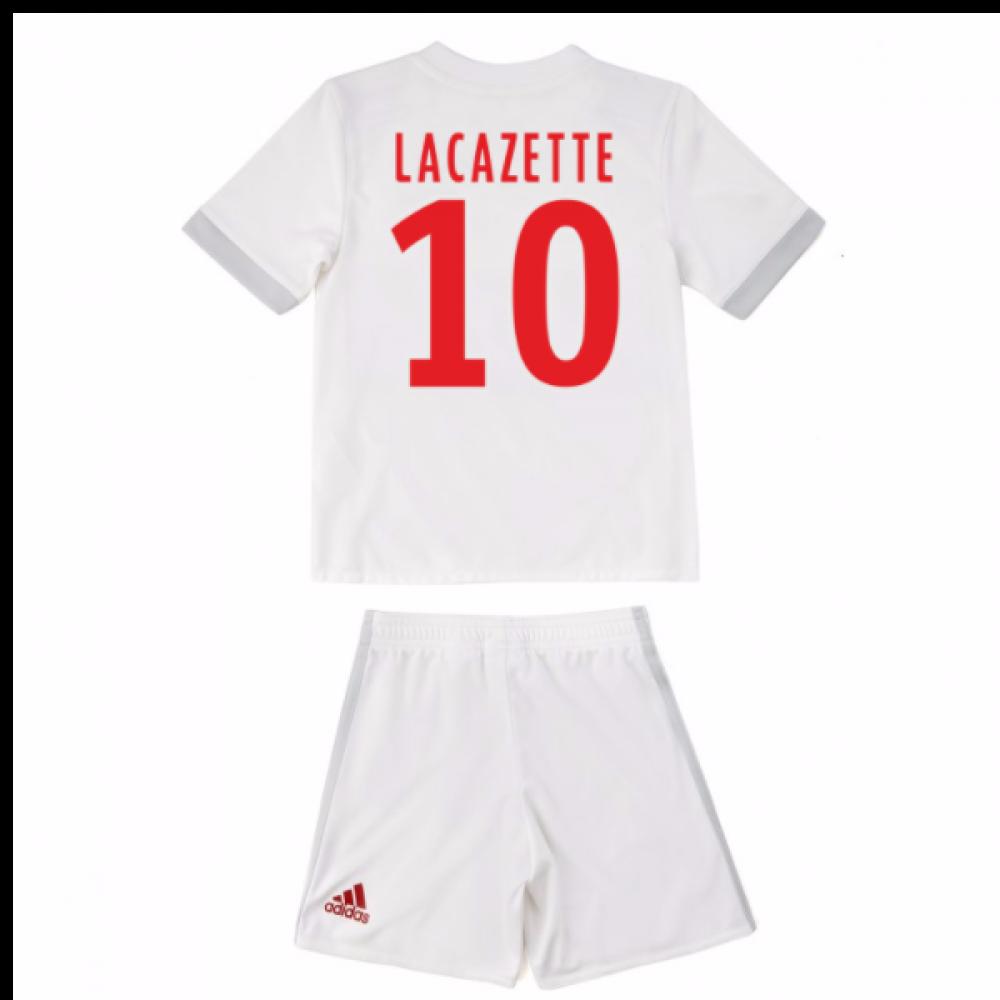 5384aacb 2017-18 Olympique Lyon Adidas Home Mini Kit (Lacazette 10) [B31060 ...