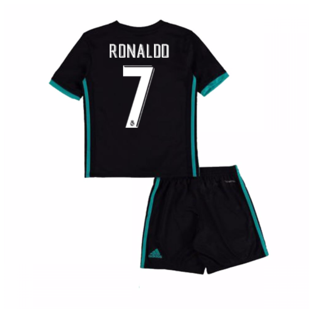 0c0b75ab8 2017-18 Real Madrid Away Mini Kit (Ronaldo 7)  B31096-95248 ...