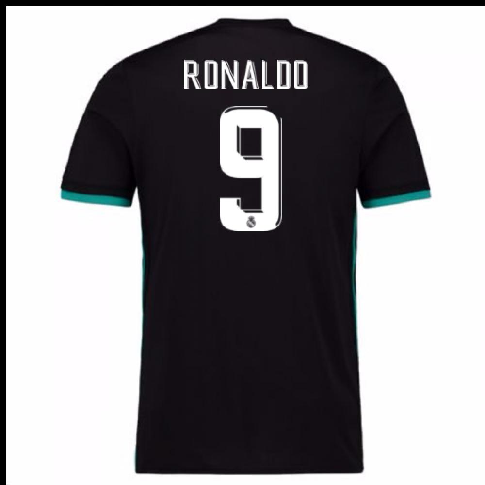 d5d585b60 2017-18 Real Madrid Away Shirt - Kids (Ronaldo 9)  CF9579-95159 ...