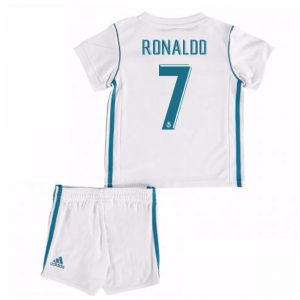 separation shoes ceb1c 8ca61 2017-18 Real Madrid Home Baby Kit (Ronaldo 7)