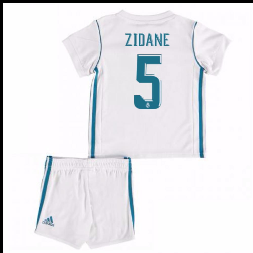 2b47601459d 2017-18 Real Madrid Home Baby Kit (Zidane 5)  B31098-95073  -  64.86 ...