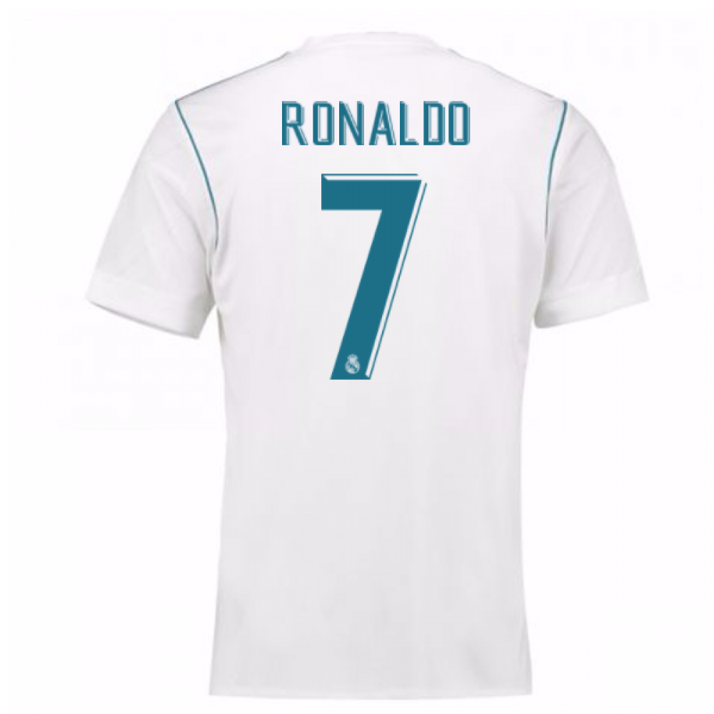 3c67175a5 2017-18 Real Madrid Home Shirt - Kids (Ronaldo 7) [B31113-94918] - $81.35  Teamzo.com