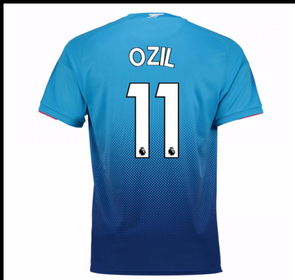 online store 40299 bdc88 2017-2018 Arsenal Away Shirt (Ozil 11) - Kids