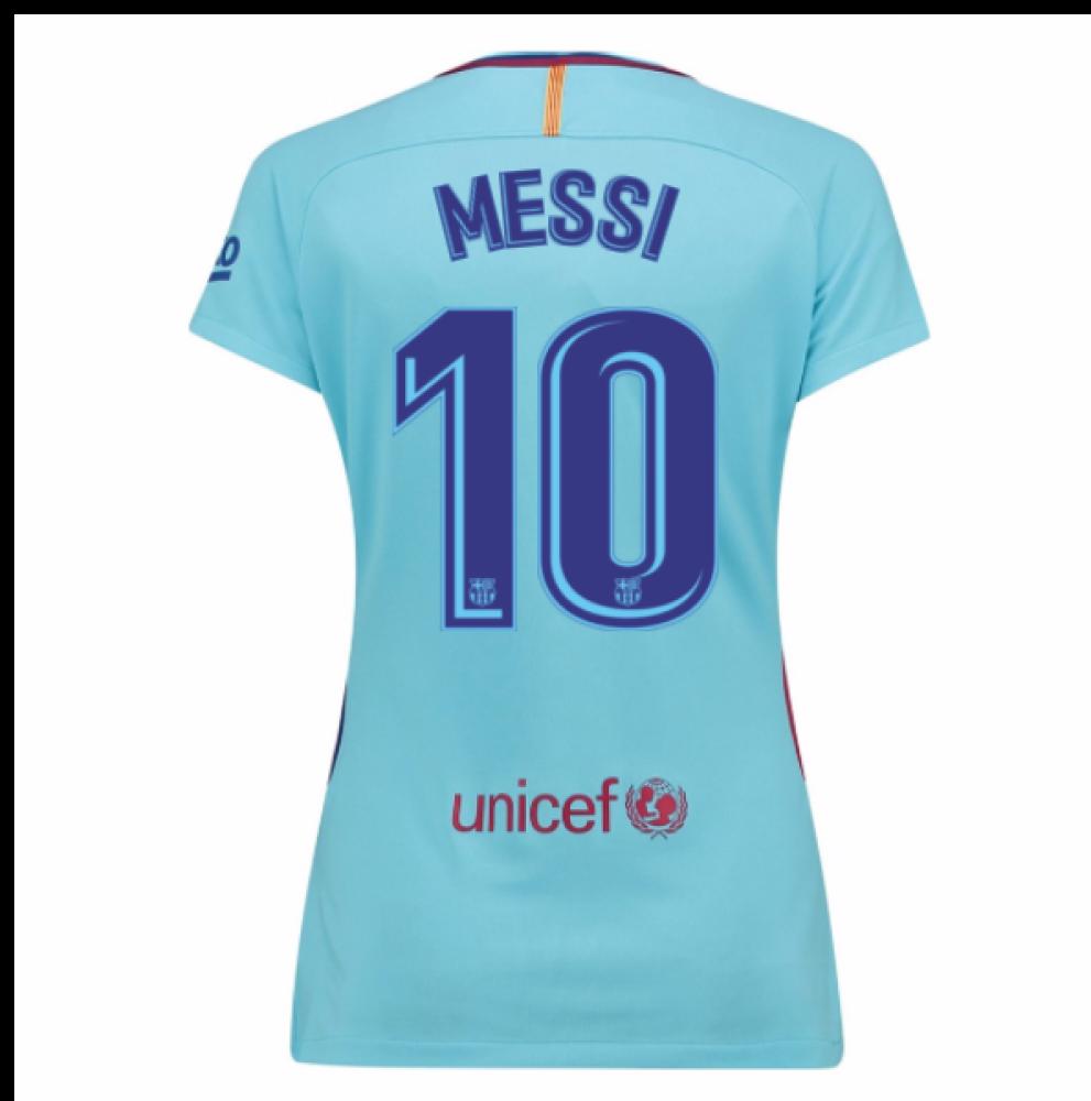 2017 2018 Barcelona Womens Away Shirt (Messi 10) 847225 a3a02760a