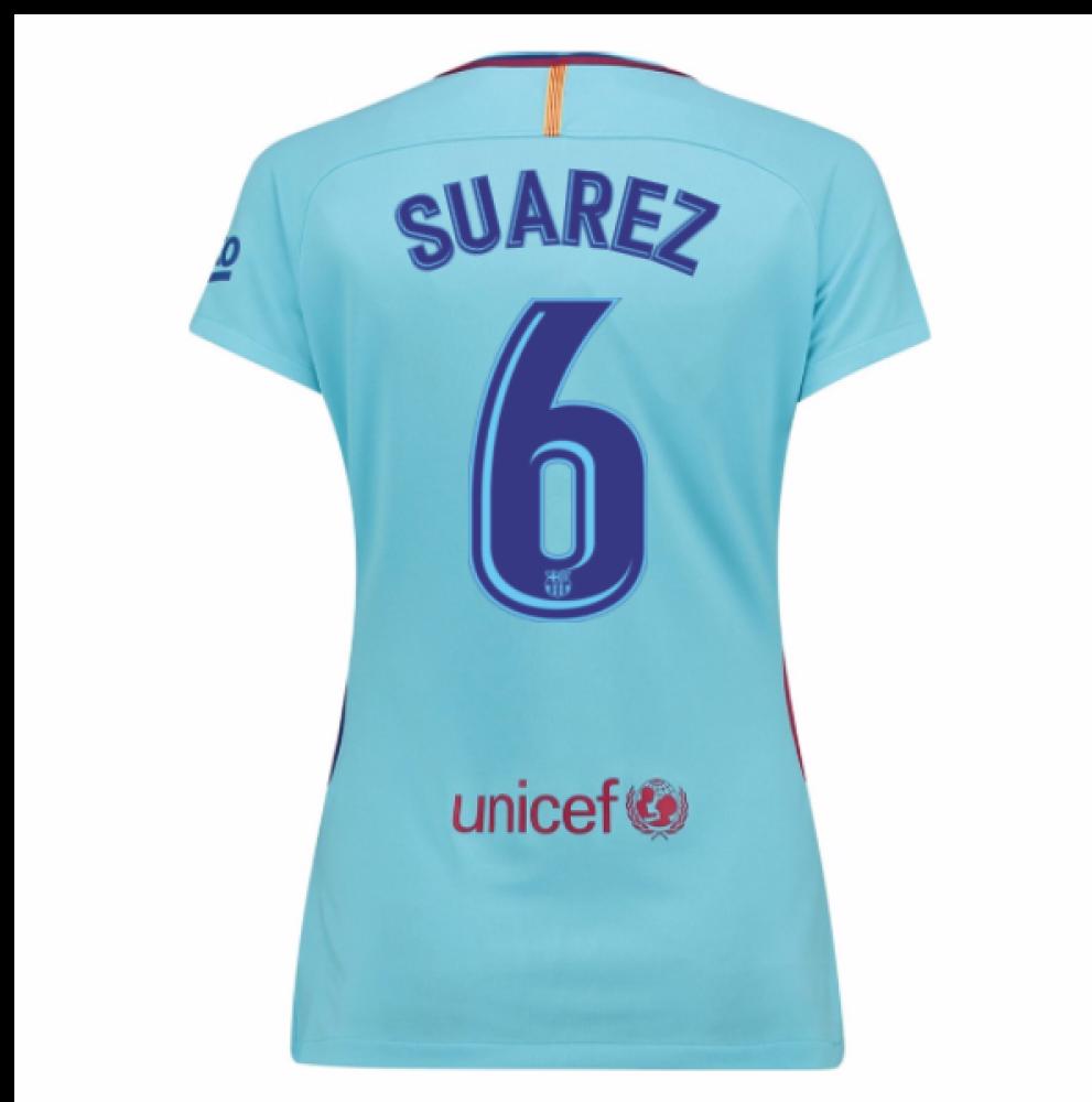 2017-2018 Barcelona Womens Away Shirt (Suarez 6)  847225-484-98100 ... cf9c041897