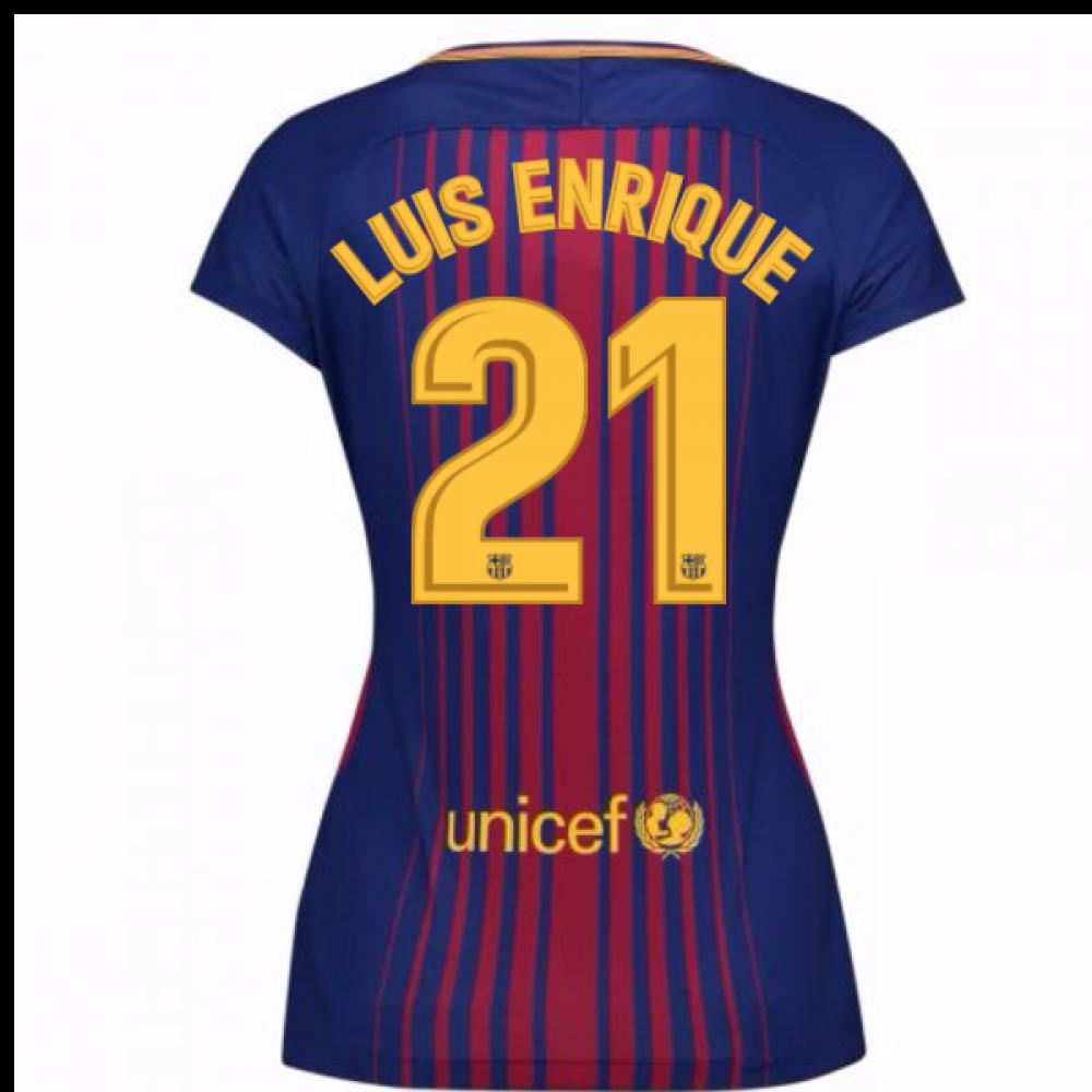 2017-2018 Barcelona Womens Home Shirt (Luis Enrique 21)  847226-459 ... fec485f5c9