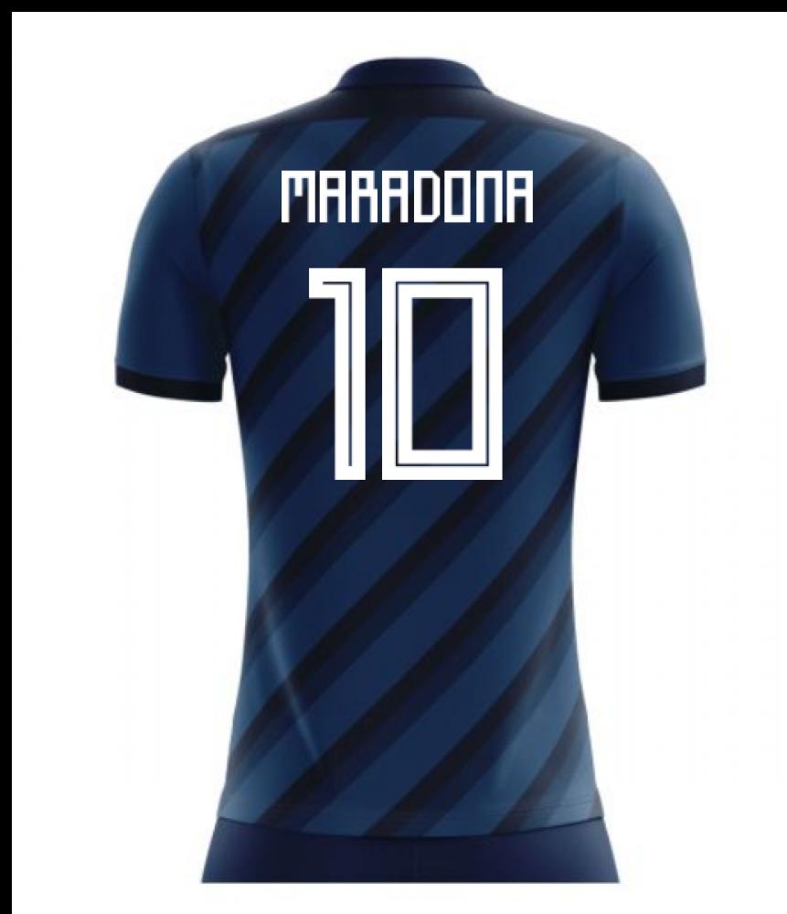 d36dd9e8b04 2018-19 Argentina Concept Shirt (Maradona 10)  ARGENTINAA-111696 ...