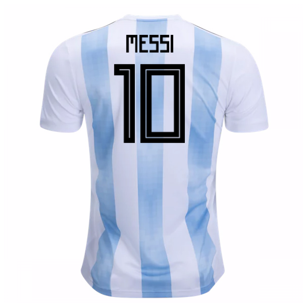 promo code 29026 19d20 2018-19 Argentina Home Shirt (Messi 10) - Kids