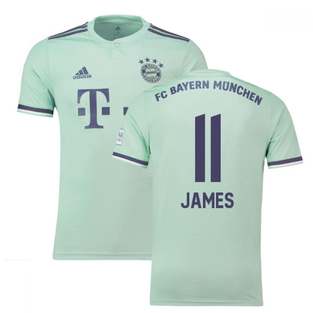 huge discount 4ac4f 4068b 2018-19 Bayern Munich Away Shirt (James 11) - Kids