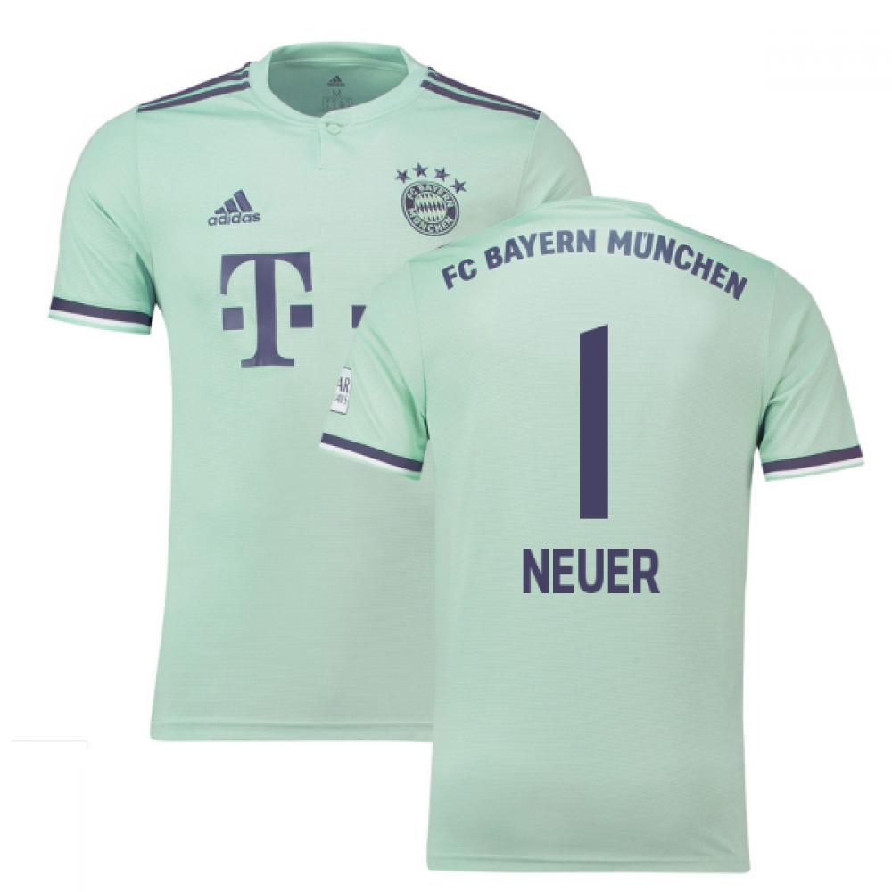 buy online e4add 2d2fd 2018-19 Bayern Munich Away Shirt (Neuer 1)