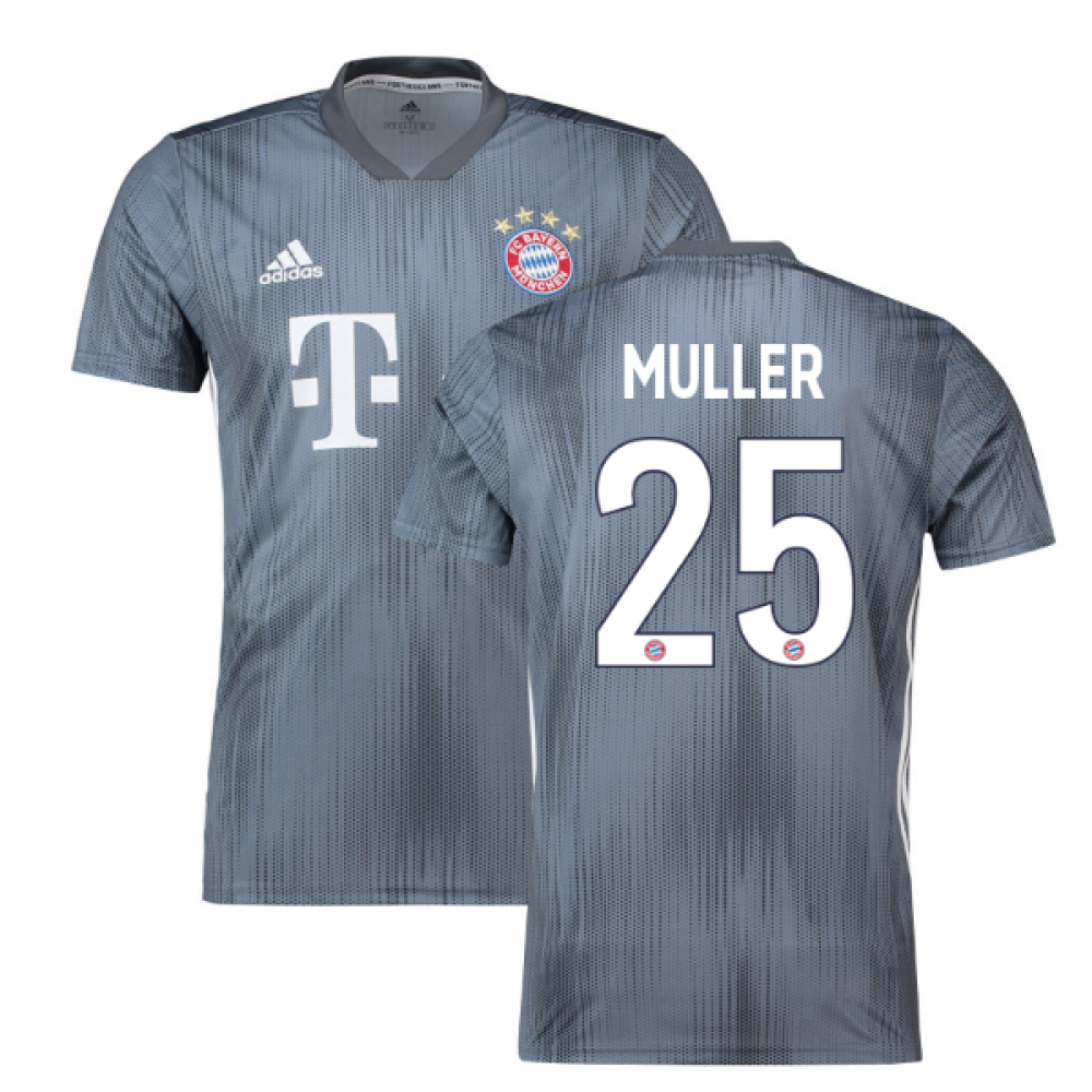 huge selection of 9ff92 7dfcd 2018-19 Bayern Munich Third Shirt (Muller 25)